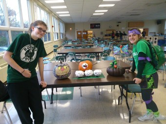 Pumpkin contest winners