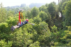 Photo courtesy of Hocking Hills  Canopy Tours