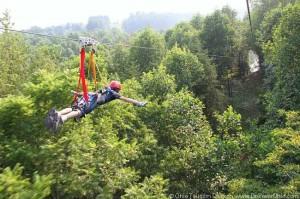 Photo courtesy of Hocking Hills  Canopy Tours