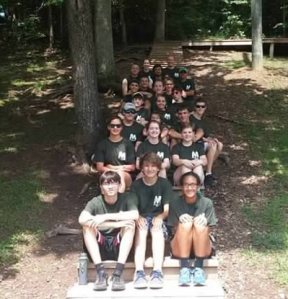 Each summer, all band members attend Band Camp at Butler Springs Christian Camp after a month of twice weekly practices. The camp is a week long, and by then end, they know the entire show for the season.
